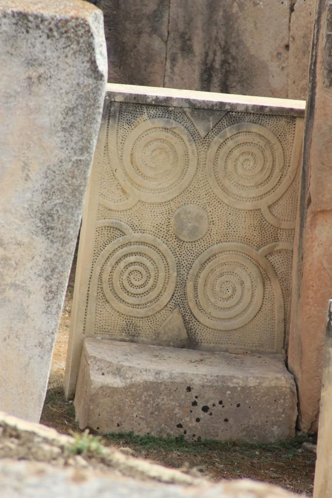 Tarxien Temple stone